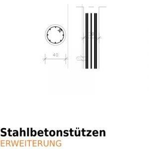 ArCADia BIM Bewehrung und Konstruktion - Betonstützen Stahlbetonstützen