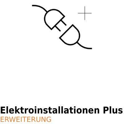 ArCADia BIM Elektrische Installationen Erweiterung - Elektroinstallation Plus