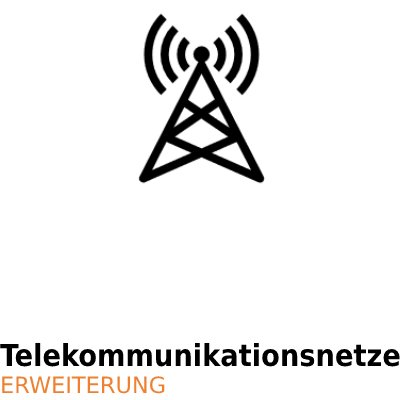ArCADia BIM Elektrische Installationen Erweiterung - Telekommunikationsnetze
