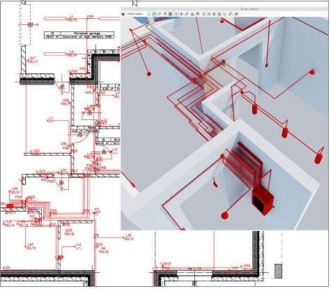 Elektroinstallationsplanung in ArCADia BIM