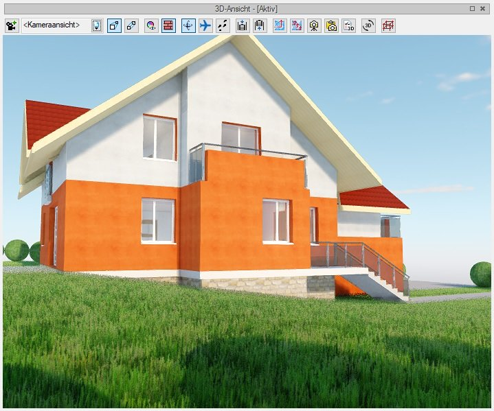 3D Maker - 3D Ansicht ArCADia BIM Software