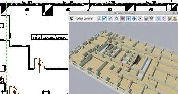 Aufmaß mit Laser Entfernungsmesser ArCADia BIM CAD Software Beispiel Raumvermessung