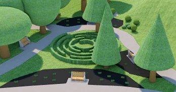 Geländeabschnitte in ArCADia BIM Landschaftsarchitektur