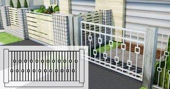 Zäune und Zaunumrandungen planen in ArCADia BIM Landschaftsarchitektur