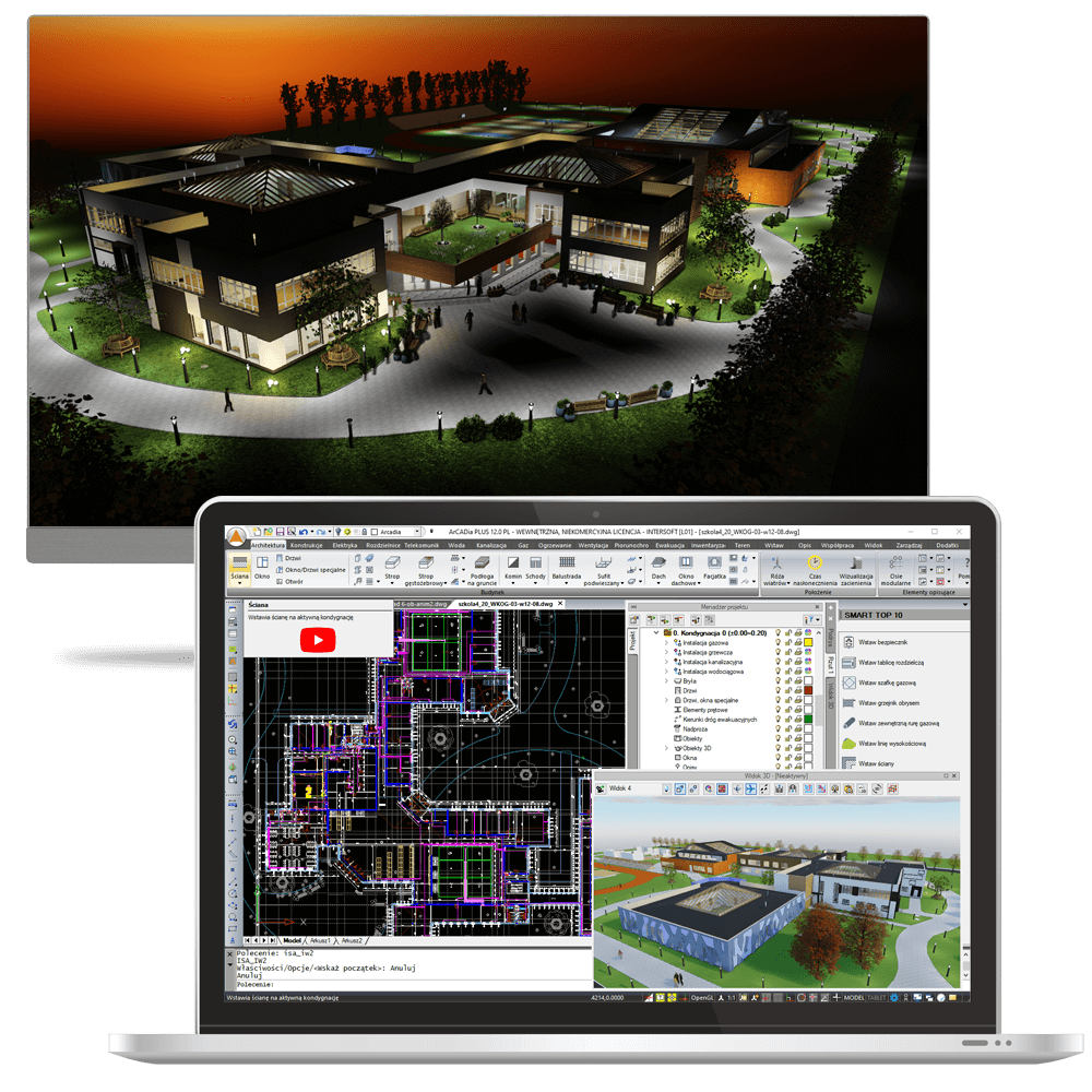 ArCADia BIM 12 3D Haus Architektur Programm